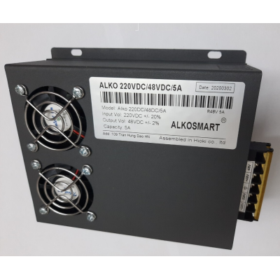 Bộ đổi nguồn 220VAC/48VDC/5A